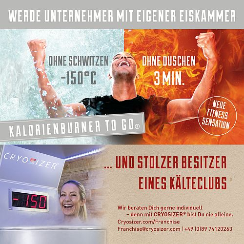 cryosizer münchen / frankfurt
