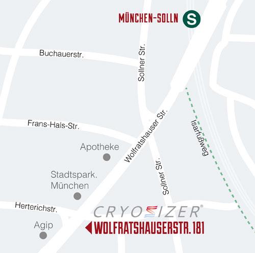 map cryosizer solln münchen
