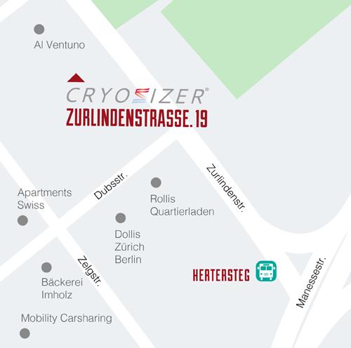 Cryosizer Swiss Verwaltung